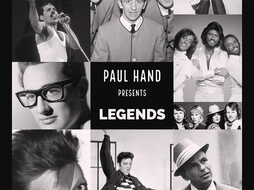Paul Hand Legends Show poster Landscape